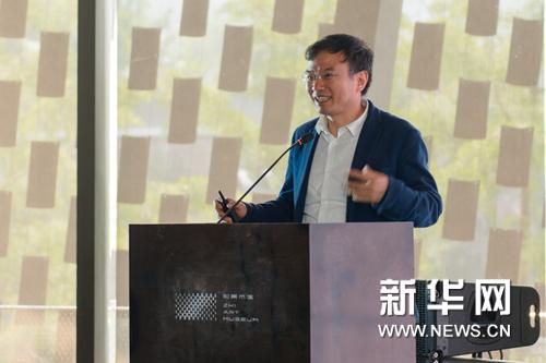 北京大学艺术学院院长、第54届威尼斯双年展中国馆策展人彭锋发言