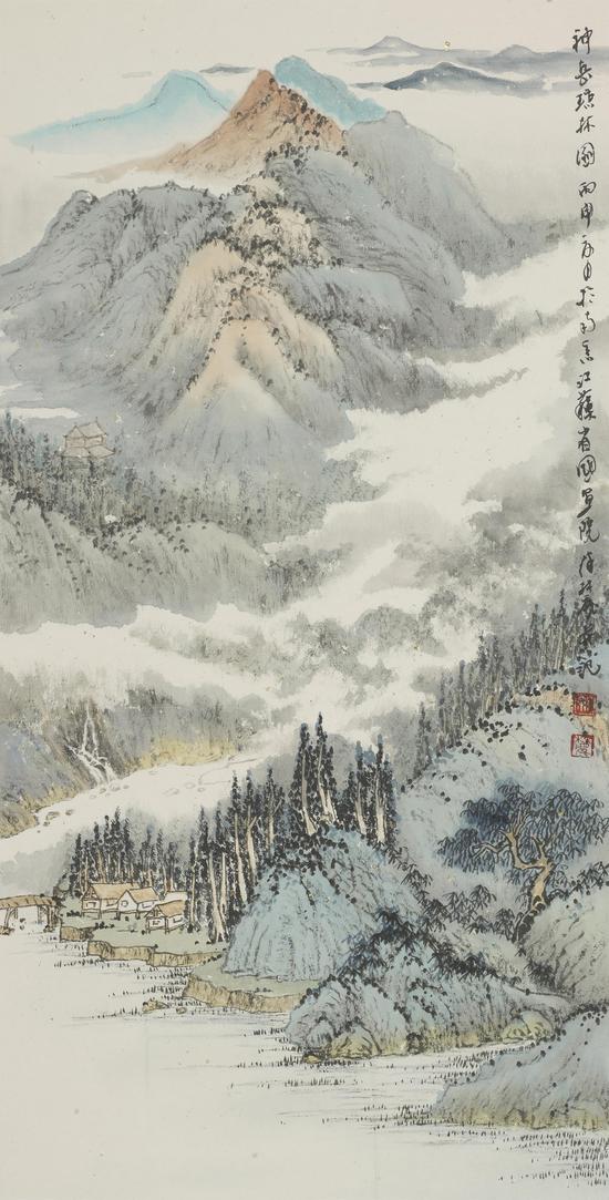神岳琼林图