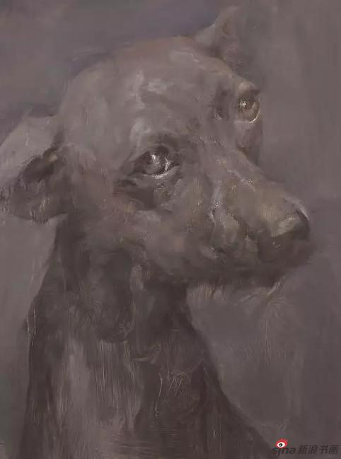 《迷途系列之一 》40×30cm 油画
