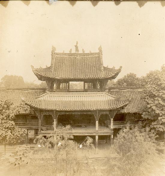 城隍庙钟鼓楼,晨钟暮鼓,钟鼓楼也是成了城市、祠庙、会馆中常见的礼仪性建筑