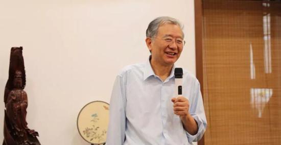 中国人民大学教授、著名美术史论家陈传席致辞