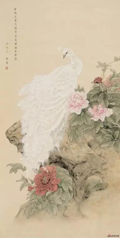 《云裳》 135cm×68cm 樊 蕾 江苏省中国画学会常务理事