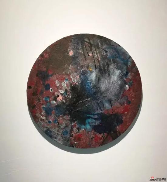 吴林田《春》 板上丙烯 50×50cm 2017