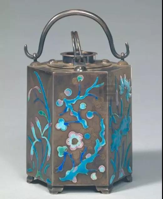 银烧蓝暖酒壶 清宫旧藏 故宫博物院藏