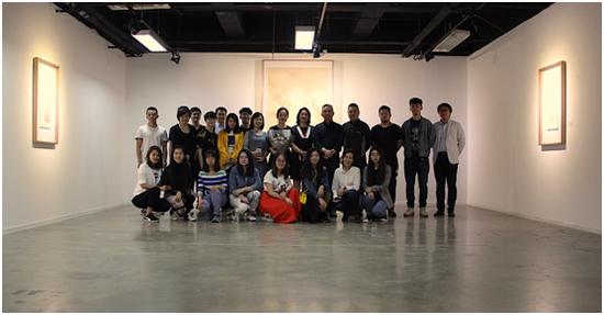 杜薇薇个人作品展在中国人民大学艺术学院美术馆开幕