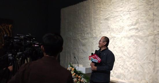 刘若望接受采访