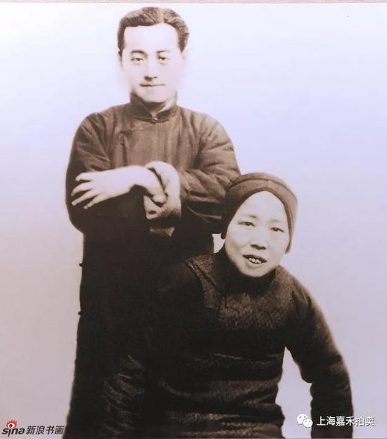 程十髮先生与母亲