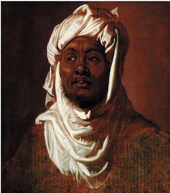 英国对《戴穆斯林头巾的非裔男子》设置临时出口禁令