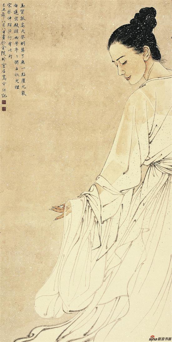 高云作品《了无一点尘凡气》136x68入选第九届中国艺术节全国优秀美术作品展