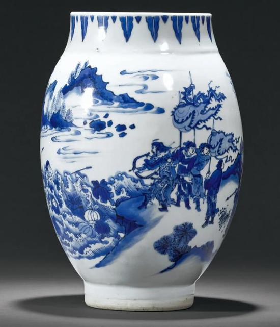 誠軒20秋拍瓷器:傳統品種之外的獨特少見之器