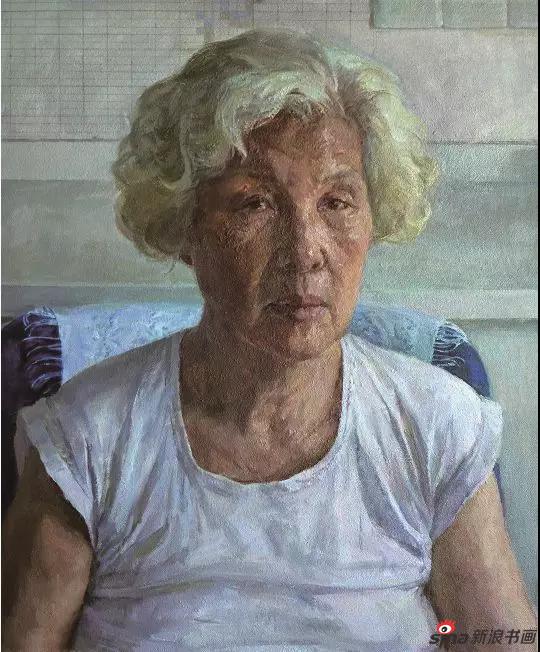 《银色芳华》60×50cm 油画