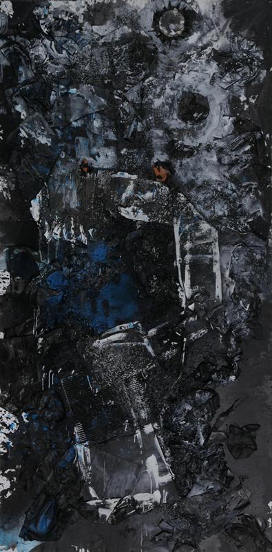 天狗之一 240x120cm2017