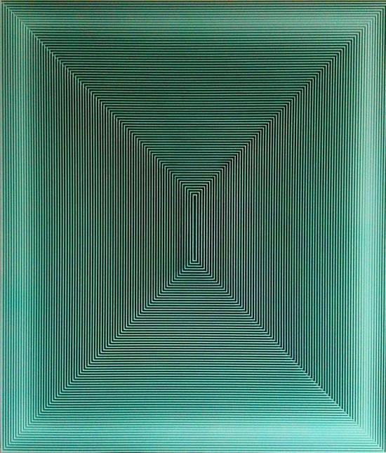 戈子馀-波系列30尺寸64x74,年代2017,材质:综合材料
