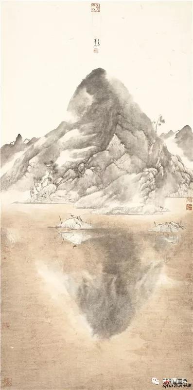 肖凡 山水一色 136cm×68cm
