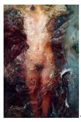 石冲 ( b.1963 ) 物语 布面 油画 40×37 cm ( 2005 )