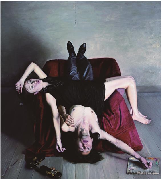 石良 境 布面油画200×180cm 2016年
