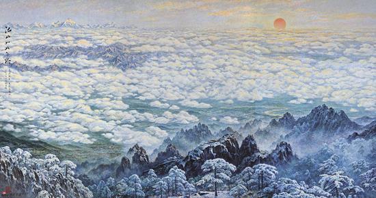 江山如此多娇 300×450cm 2012