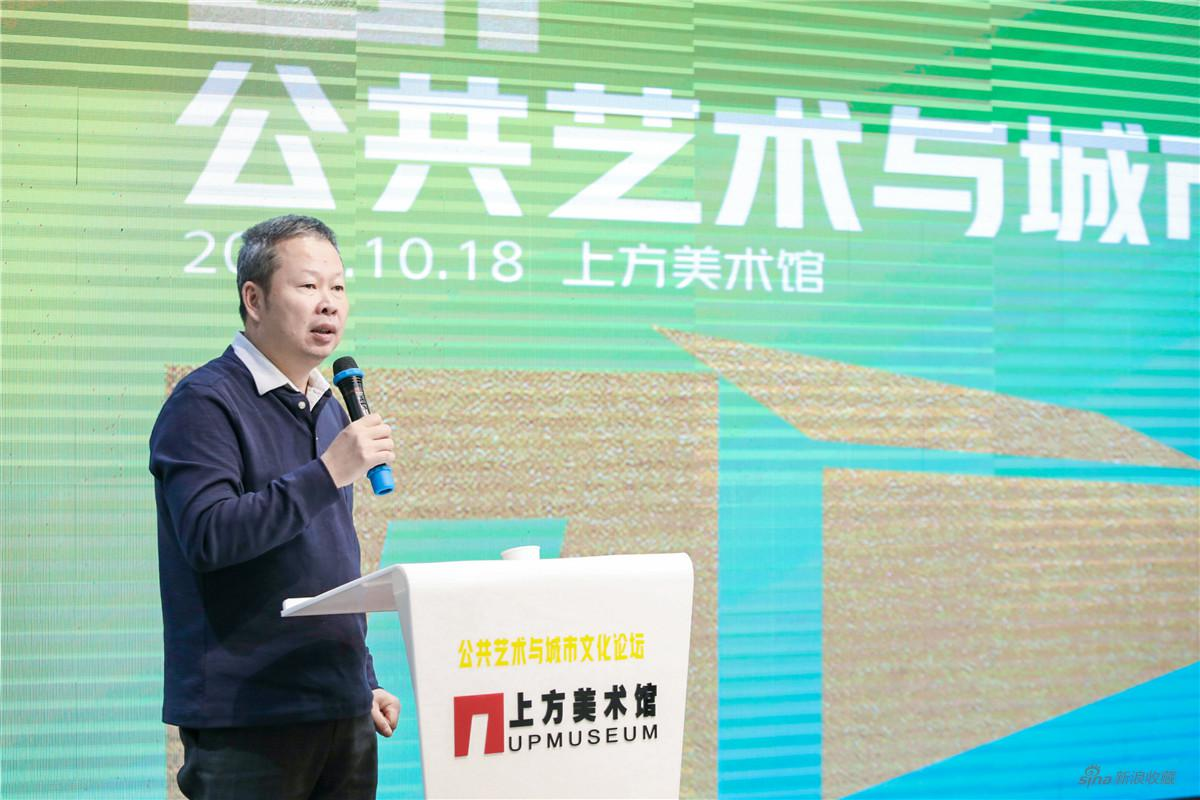 陈各新,宝隆艺术区董事长、上方美术馆创始人