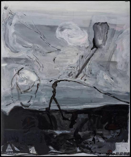 吴维佳 《无题》 125x150 布面油画 2018年