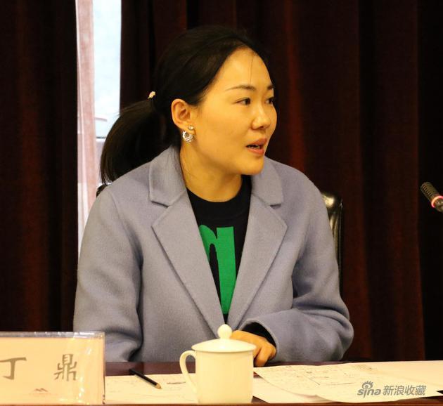 中国艺术研究院国画院年轻画家丁鼎