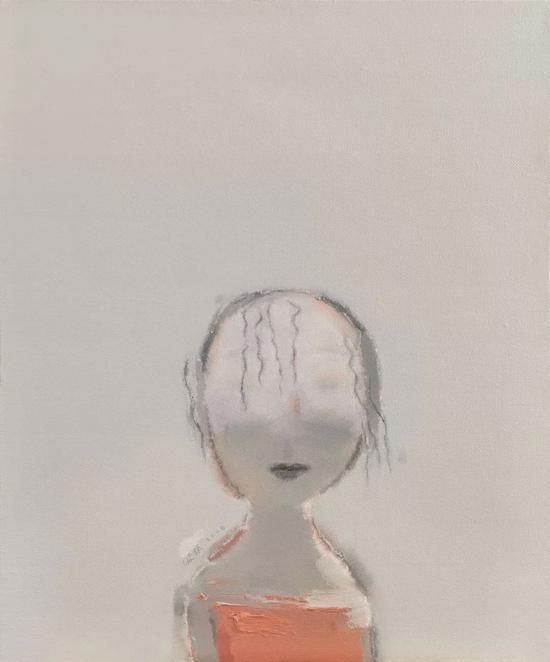 陈淑霞《青 春 记忆Memories of Youth 》 60×50cm 布面油画 2008年