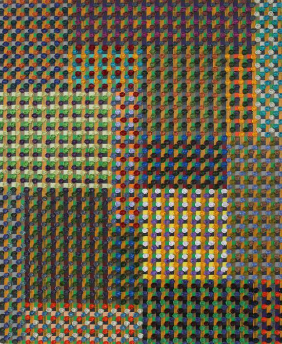 陈丹阳-巴赫平均律164尺寸65x81cm-布面油画-2018