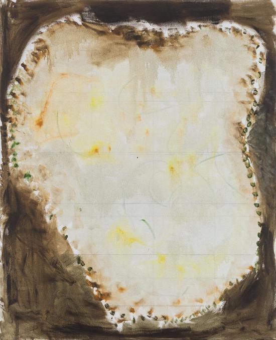 张恩利,《老沙发》,布面油画,220×180cm,2017