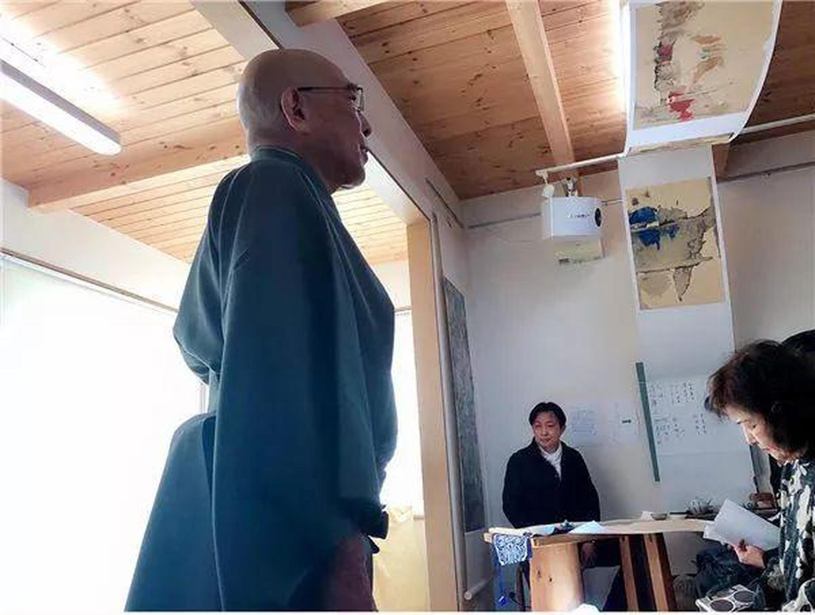 """""""水墨时代·张立作品展""""在日本京都开幕"""