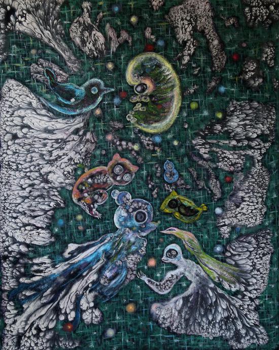 职业画家林芮:灵魂的居所便是我的神秘花园