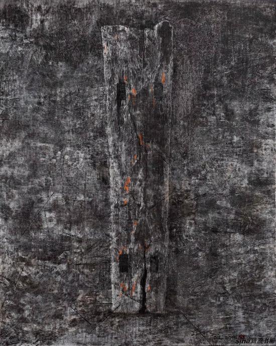 ▲黑马 80 x 100 cm布面油画
