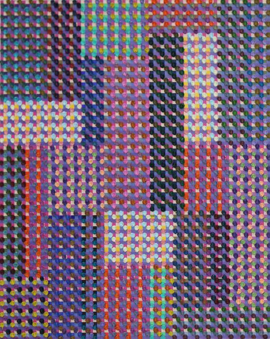 陈丹阳-巴赫平均律161尺寸72x93-布面油画-2018