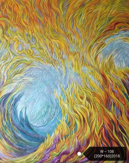 浴火重生至未来 论王冰的抽象画