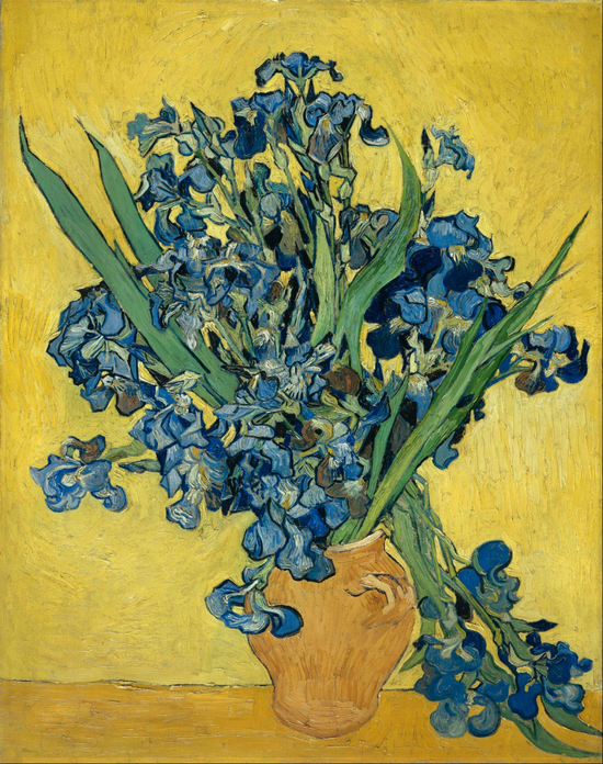 Still Life: Vase with Irises Against a Yellow Background, May 1890, Van Gogh Museum, Amsterdam