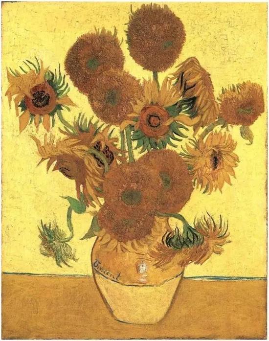 梵高的向日葵