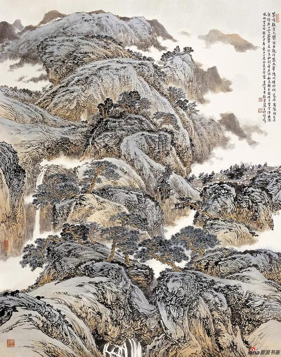 茅山清境 180×145cm 2012年
