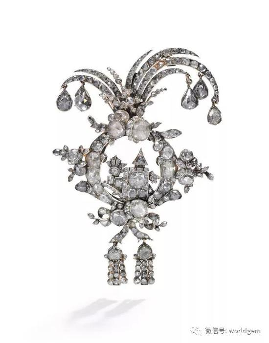 钻石胸针   约1750年