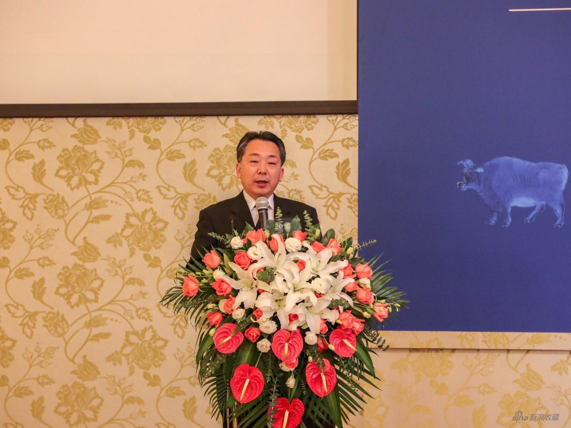 中国人民对外友好协会秘书长袁敏道开场致辞