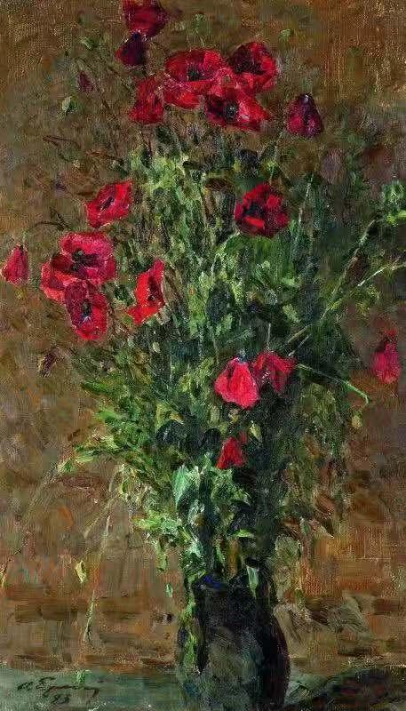 《罌粟花》奧列格·葉列梅耶夫(俄羅斯) 1993年
