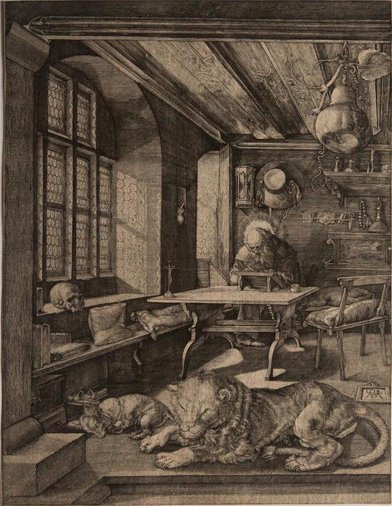 书房中的圣杰罗姆