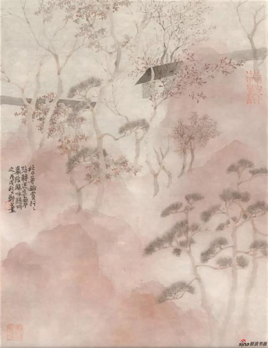 园之语 绢本设色 33×45cm 2018年