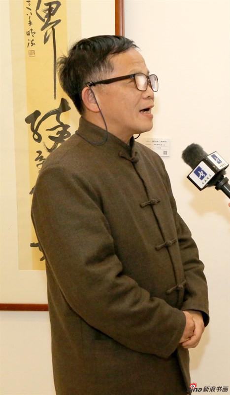 吴烈伟老师接受采访