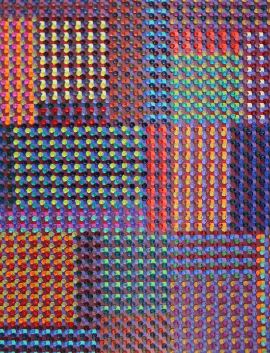 陈丹阳-巴赫平均律166尺寸72x93-布面油画-2018