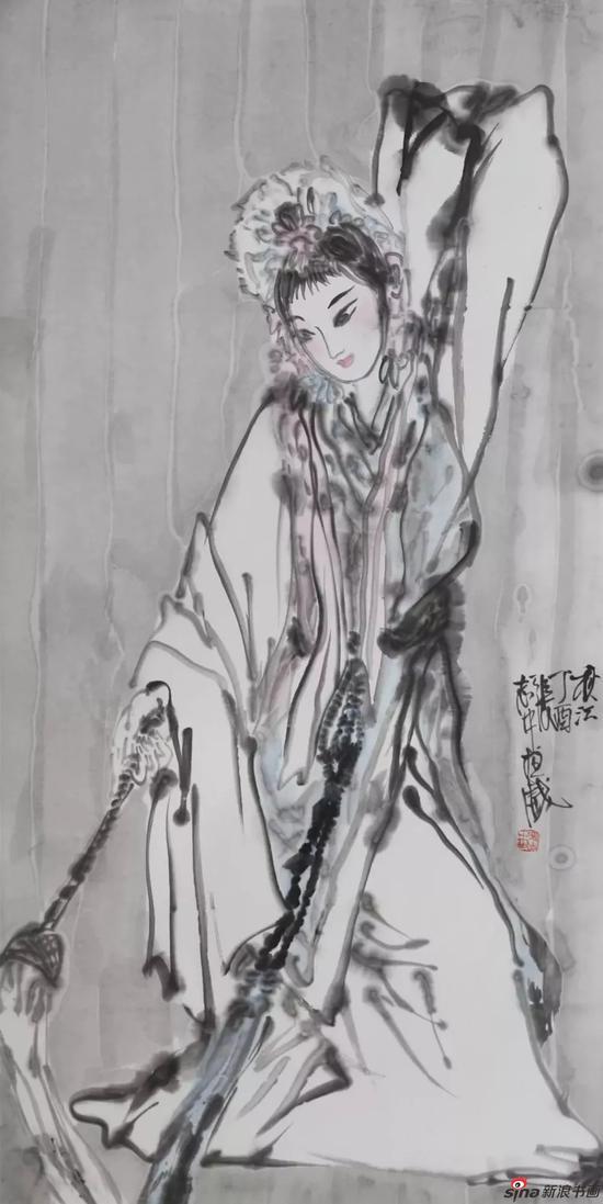 《戏韵丹青》第二届水墨戏曲人物画八人展
