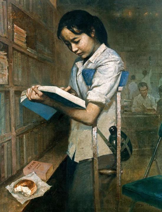 艾轩 有志者   1980年   布面 油画   94.5×74.5 cm   成交价:RMB 24,380,000
