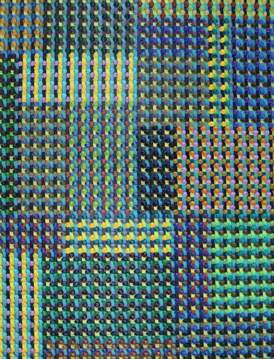 陈丹阳-巴赫平均律165尺寸72x93 布面油画 2018