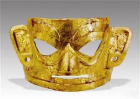 金沙遗址利来国际娱乐收藏的大金面具