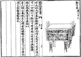 图2:庐江李氏所藏郑方鼎