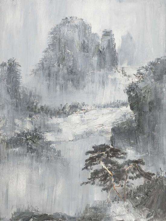 48《大象·绮照》徐里 200cm×150cm 布面油画 2016年
