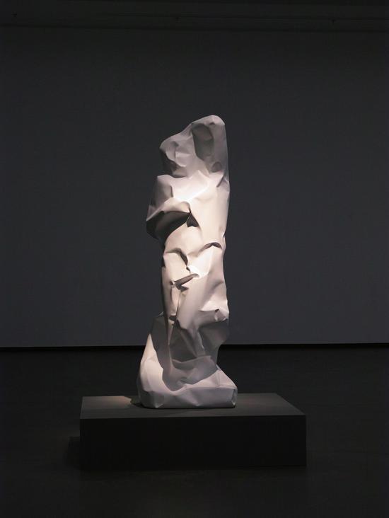 奴隶 玻璃钢,高226cm,2016年