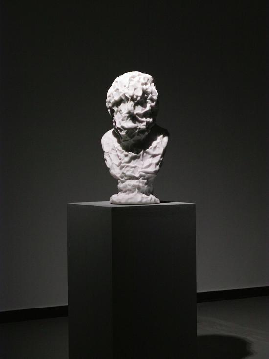 荷马 汉白玉,高80cm,2015年